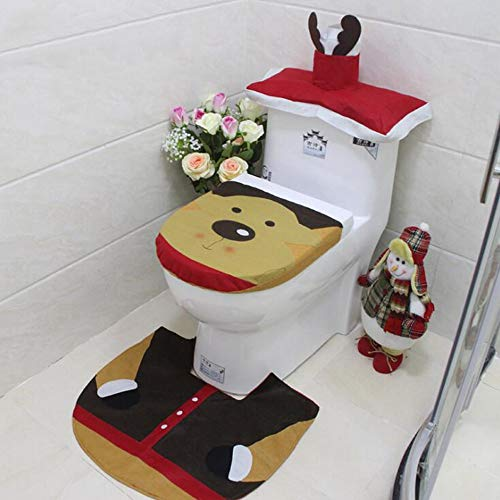 Kungfu Mall - Juego 3 Fundas Papel higiénico decoración