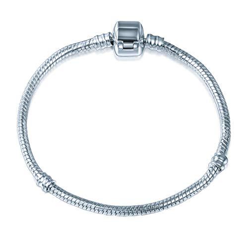 A TE® Charm Bracciale Catena di Serpente #JWB00 (18)