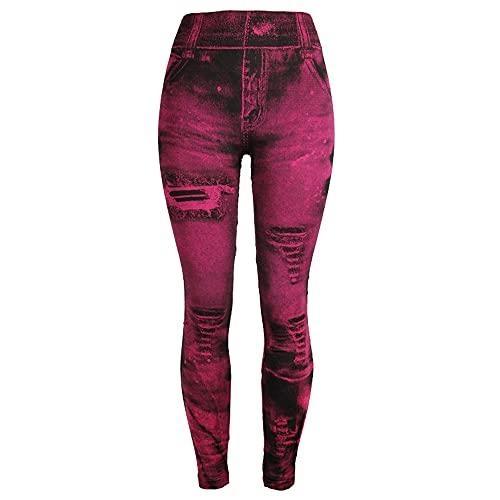 N\P Leggings de mujer Pantalones de abajo Pantalones de colores Jeggings Leggins