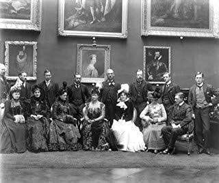 Photo: Hat Trick - Royal Visitors in The Picture Gallery, Kilkenny Castle