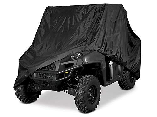 dDanke 2.9 * 1.5 * 1.9 m Heavy Duty étanche protégé Contre la poussière 210d Polyester UTV Housse Sac de Rangement (Noir/Camouflage) Noir