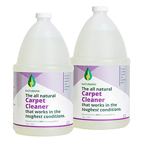 Naturama, All Natural Carpet Cleaner, Eco-Friendly EPA Registered. Made in The U.S. - Carpet Shampoo - Stain Remover - Cleaning Solution.