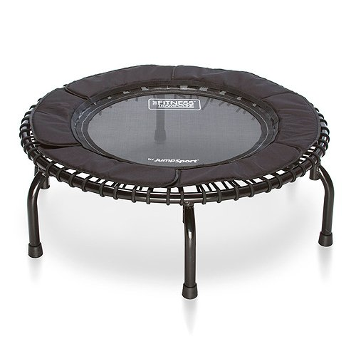 JumpSport  250 | Fitness Trampoline, In-Home Rebounder | Home Cardio Exercise | Safely Cushioned...