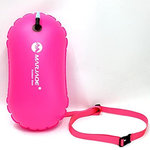 wasserdichte PVC-Schwimmschwimmerbeutel aufblasbare Schwimmwassersport-Rettungsring Trockenluftboje Anhänger Segelschwimmerbeutel