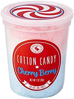 Red, White & Blue Cherry Berry Cotton Candy
