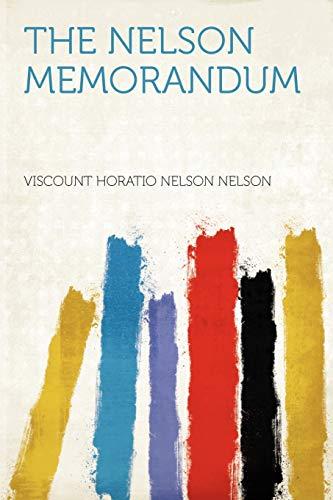 Nelson Memorandum