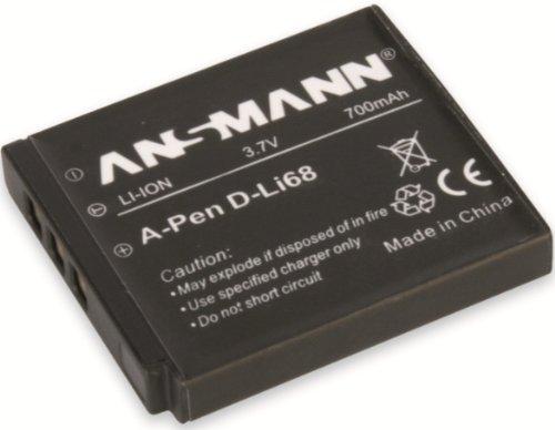 Ansmann 5044303 - Batería para cámara de Fotos Pentax Optio A40, S10