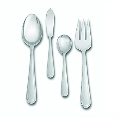Wedgwood 4 Piece Vera Infinity Hostess Set, Silver