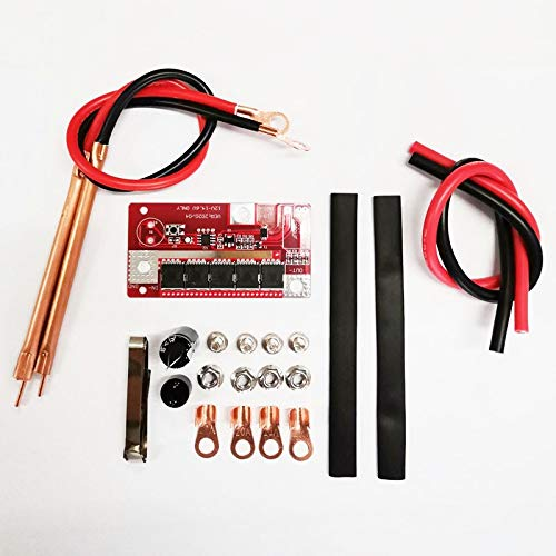 Yuenhoang DIY Portable 12V Battery Storage Spot Welding Machine PCB Circuit Board Mini Nickel Welding Equipment Spot Welder Pen 5-speed Adjustable For 18650/26650