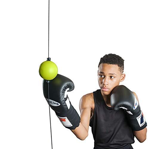 Viminston Palla da Boxe velocità Palla da Boxe Fitness per Migliorare Adulto Reflex Ball