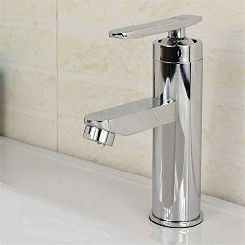 Nuokix Water-tap Single Handle Faucet Sink Best Single Handle Kitchen Bathroom Basin Sink Hot and Cold Water Mix Faucets Washbasin Tap