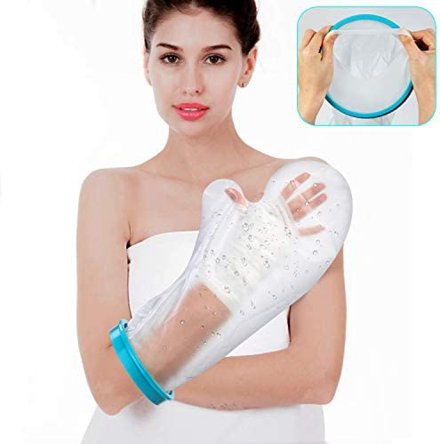 Waterproof Arm Cast Cover for Shower Bath Adult Reusable Arm Cast Wound Dressing Protector Bag product image