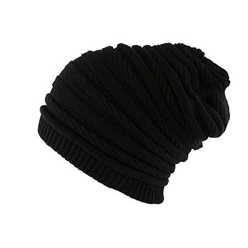 Nyls Création Bonnet Rasta Oversize Noir Jack Mixte,Taille unique,Noir