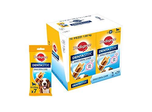 Pedigree Dentastix - Friandises pour moyen chien - 70 sticks hygiène bucco-dentaire