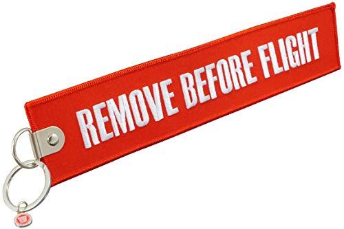 REMOVE BEFORE FLIGHT 1 pendentif géant.