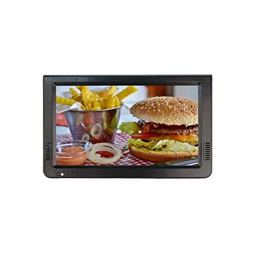 Mini TV Digital DVB-T / T2, Televisor Portátil LED de 10 Pulgadas con batería de 1500 mAh incorporada, Soporte USB, SD HDMI, AV para automóvil, Caravana, Camping, Exterior, etc