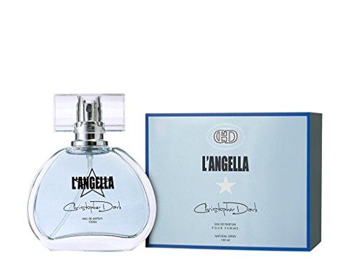Eau de parfum pour femme Christopher Dark L'Angella - Flacon vaporisateur naturel de 100ml