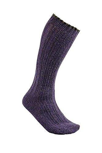 Chaussettes de chasse Club Interchasse Natun C / Violet