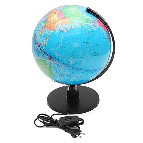 Lámparas De Escritorio ToqueLED De Geografía Del Mapa Del Globo Terráqueo De 10'iluminado Para Escritoriopara Trabajar
