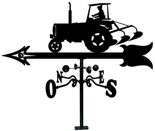 Arthifor Dachsegel mit Traktor Silhouette, schwarz matt