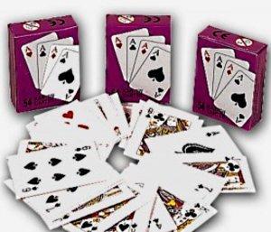 BG Lot de 30 Mini Jeux DE 54 Cartes