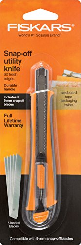 Fiskars 144710-1001 9mm Snapp-Off Utility Knife