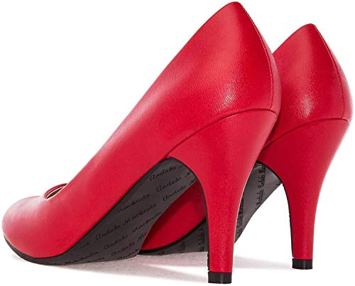 Elegante Pumps in Rot. Gr. 40