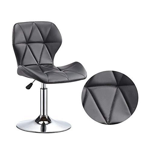 Sweety Barstools WH hoofdbarstoel, hoge scheel, achterzijde, kan omhoog worden gebracht en verlagen, draaiend 40-55 cm, diameter 38,5 cm