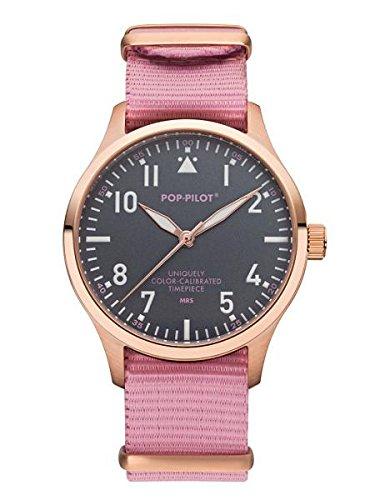 Pop Pilot Unisex Analog Quarz Smart Watch Armbanduhr mit Stoff Armband MRS