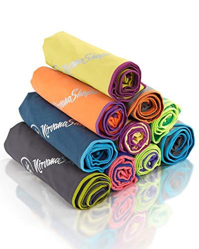 NirvanaShape ® Asciugamano Microfibra | 14 Colori | 8 Taglie | Asciugatura Rapida, Leggero,...