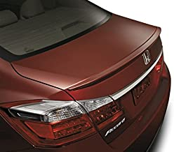 Factory Style Lip Spoiler for the Honda Accord Sedan 2013-2017 Spoiler Painted in the Factory Paint Code of Your Choice 535 B588P with 3M tape included