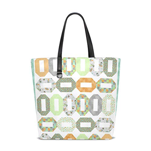 DEZIRO Kreative Quilt-Muster Taschen für den täglichen Gebrauch