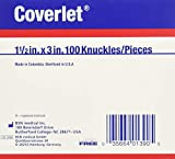 Coverlet Knuckle Fabric Adhesive Bandages 1 1/2' x 3' (Box of 100)