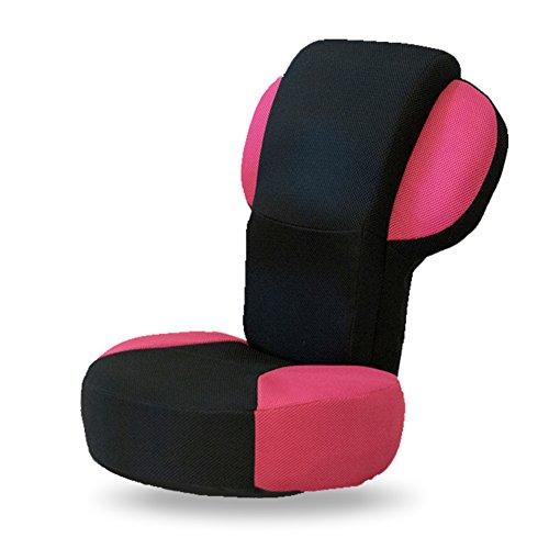 JiaQi Folding Chaise de Plancher,Se détendre Canapé Paresseux,Siège de lit Canapé Chaise Longue Individuels Plein air Indoor-Rose