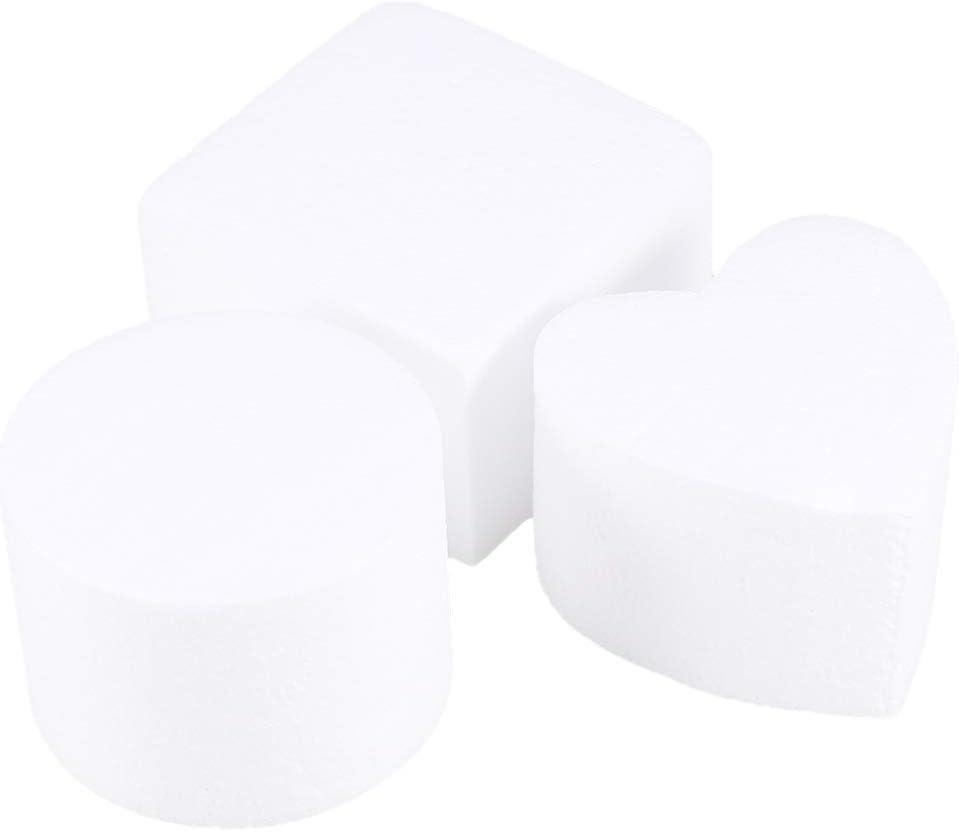 HEALLILY Styrofoam Nippon regular agency Foam Cake Dummy Practice Fak Max 89% OFF Sugarcraft Model