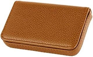 Pocket PU Leather Business ID Credit Card Holder Case Wallet Pip UK Ochre