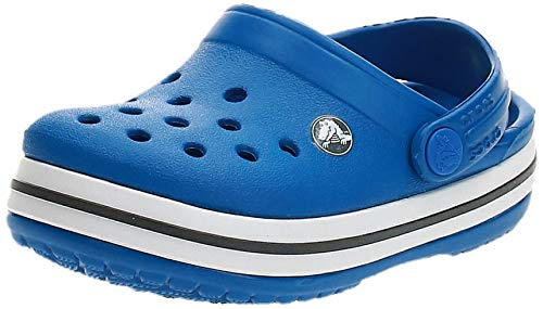 Crocs Crocband Clog Kids, Zuecos Unisex Niños, Azul (Bright Cobalt/Charcoal 4jn), 23/24 EU