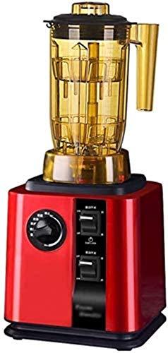 JISHIYU-S Blender Ice Blender Professher Blender, encimera Blender 1500W, Blender de Alta Potencia con Alta Velocidad, Temporizador Incorporado, Fabricante de Batidos