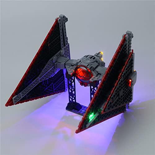 SENG LED Licht Beleuchtungsset Kompatibel mit Lego 75272 Star War Sith TIE Modell (Modell Nicht Enthalten)