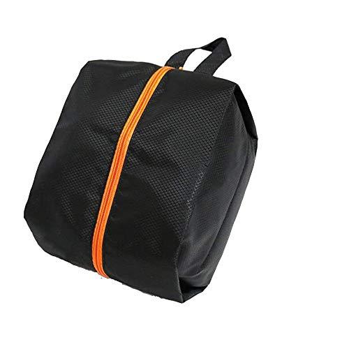 POSMA SB010M Golf 36.5cm X 19.5cm Polyester Shoes Bag Bundle Set with 1pc Golf Wet Brush + 2 Set Score Counter + 1pc Spike Wrench
