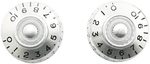 Top 10 Best silver guitar knobs