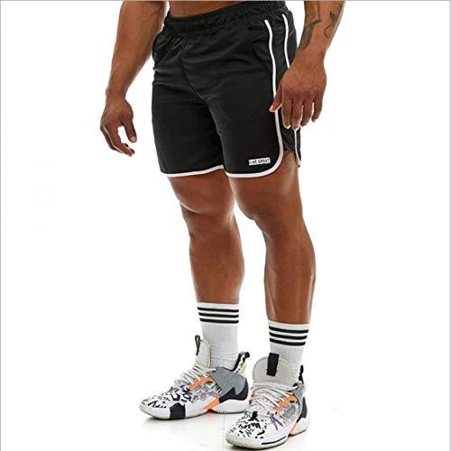 Pantalones Cortos Deportivos Nuevos Pantalones Cortos De Culturismo para Hombre, Pantalones Cortos De Verano paraHombre, Malla Transpirable, Ropa Deportiva De Secado Rápido