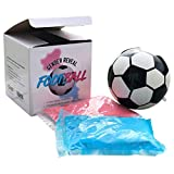 Sass Party & Gifts Gender Reveal Exploding Football/Soccer Ball - Includes Blue