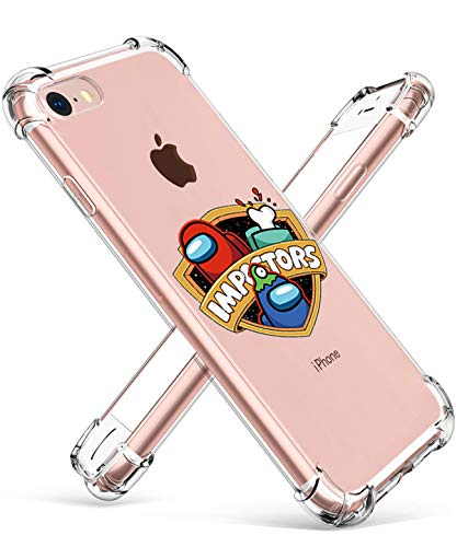STSNano para iPhone 6/6S 4.7' Funda - Shield Among, Dibujos Animados Lindo 3D Divertido Kawaii para iPhone 6/6S 4.7' TPU Moda Personaje Casos pere Muchachas Mujeres Juventud