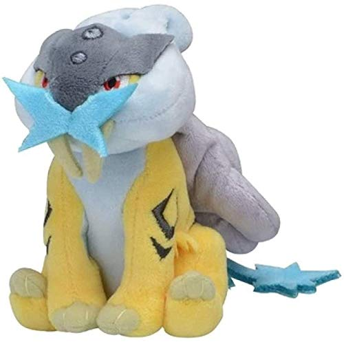 zdffgcgvg Little Fairy Pokémon Raikou Plush Doll Plush Toy Cute Doll 12Cm Birthday Gift