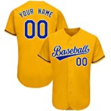 Custom Baseball Jersey for Men,Personalized Team Uniforms, Stitched Letters and Numbers