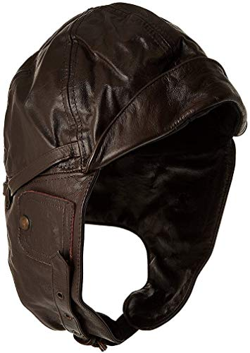 FLIGHT LEATHER COVER BROWN, XL