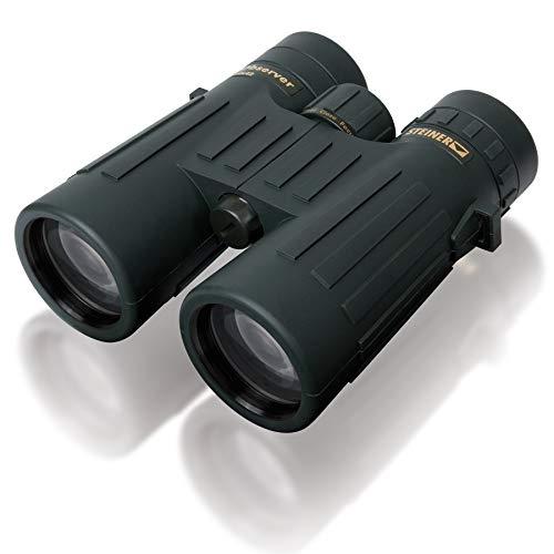 Steiner Observer 10x42 Prismáticos: detallado, de gran aumento y bajo volumen: el todoterreno entre los binoculares de caza para obtener detalles rápidos y nítidos