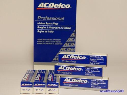 ACDelco # 41-101 Professional Iridium Spark Plug --- 6 Pcs NEW