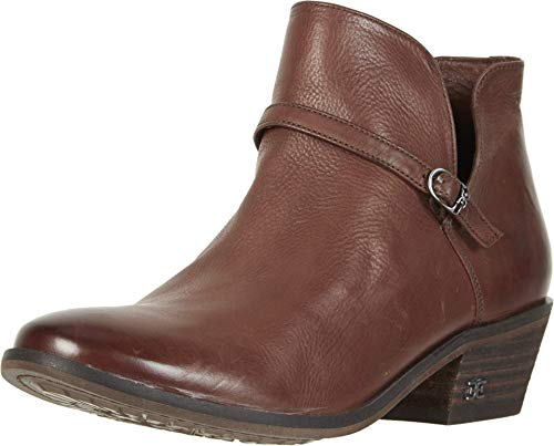Sam Edelman Palmer Dark Mahogany Veg Calf Leather 6.5